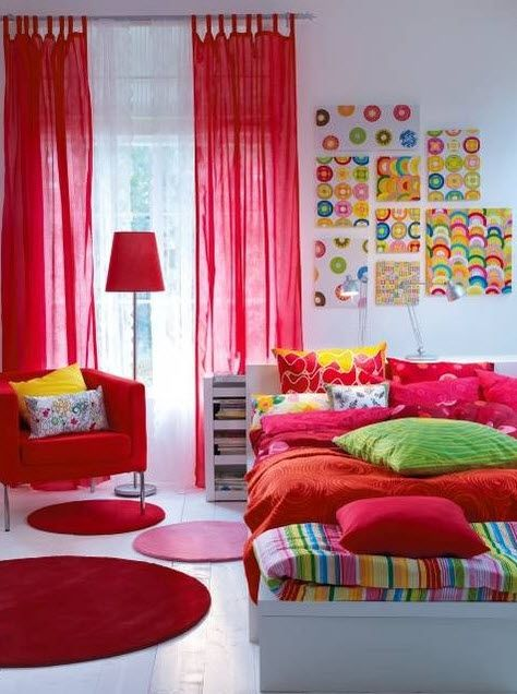 17 Simple And Colorful Design Ideas For Decorating Teenage Girls Bedrooms 16 Pictures