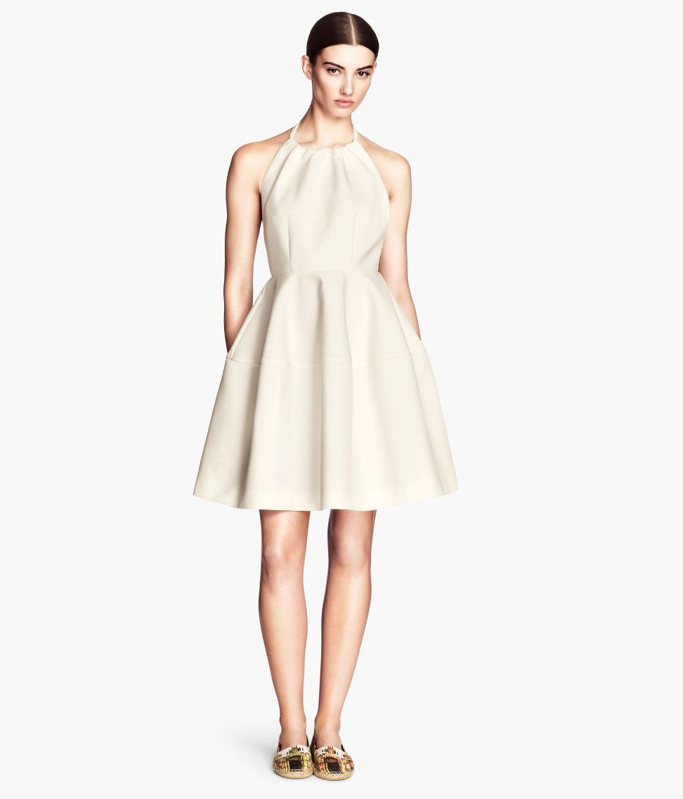 H&M Flared Dress | $56 | Fashionably Clearance | Pinterest