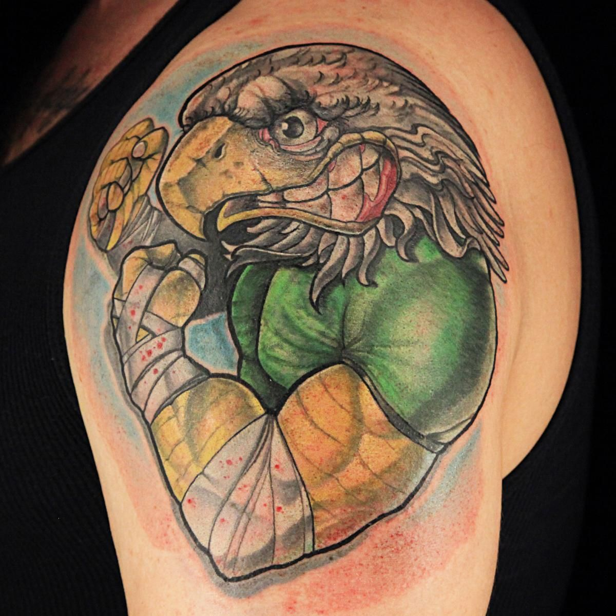 Ink master - craig foster | Tattoos: Permanent Ink | Tattoos, Cover ...