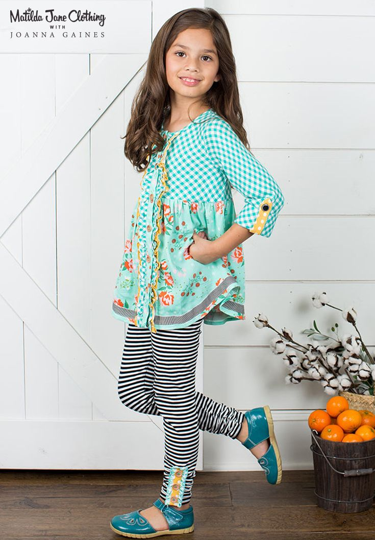 Matilda Jane with Joanna Gaines: Pecan Pie Top and Haystack Leggings