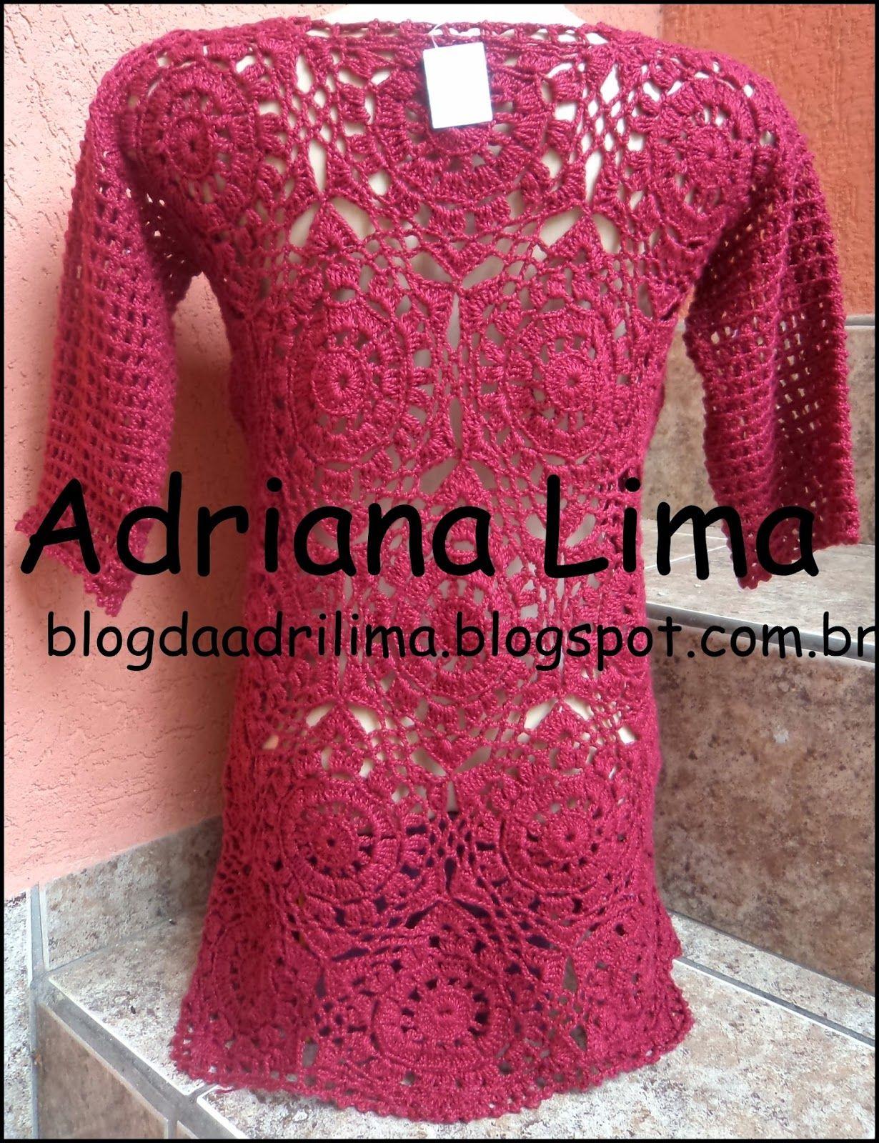 Blog sobre artesanato em crochê! | vestidos de novia al crochet ...