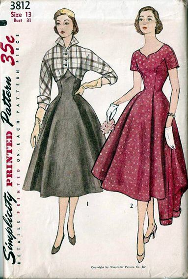 1952 Simplicity Pattern