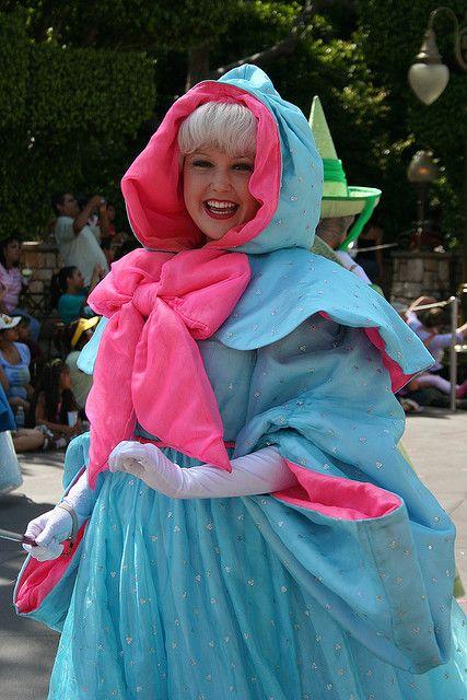 Fairy Godmother Fairy Godmother Costume Disney Parade