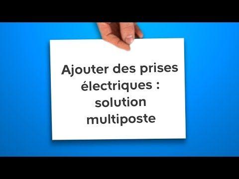 Ajouter Des Prises Electriques Solution Multiposte Castorama Youtube Porte De Garage Basculante Pose Fenetre Castorama