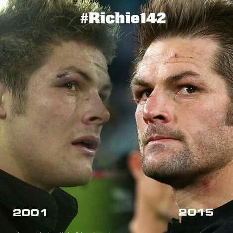 From boy to man....#Richie142 NZ All Blacks❤️❤️