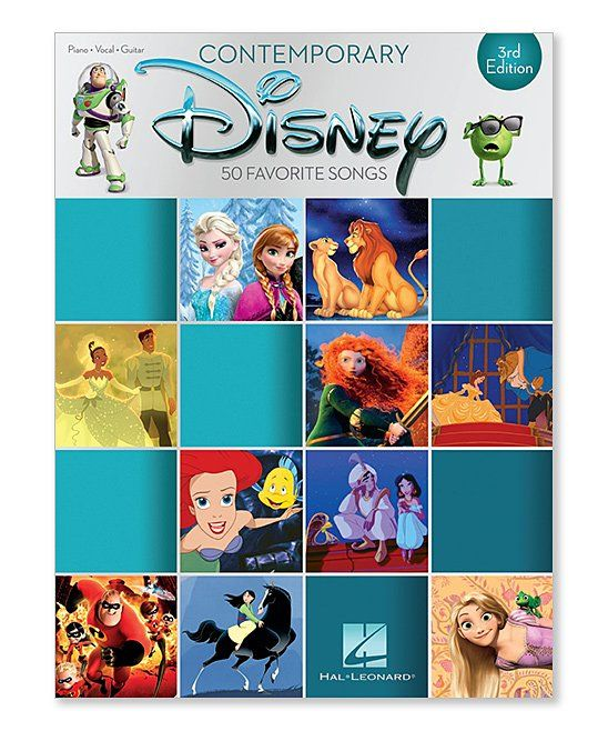 Take a look at this Contemp Disney 3rd Edition Sheet Music ...