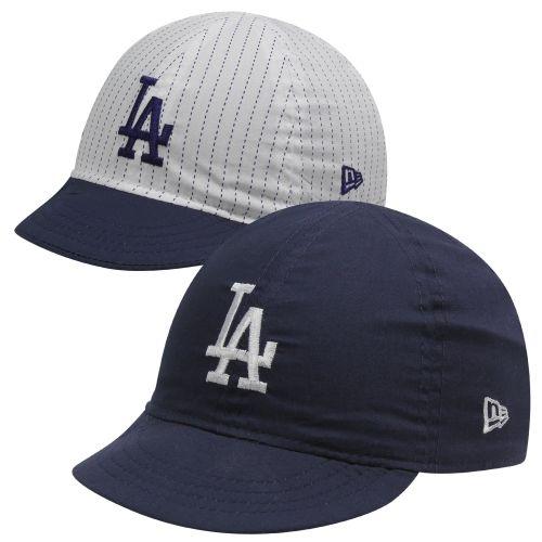 New Era L.A. Dodgers Infant Mesaflip Redux Reversible Adjustable Hat –  White Navy Blue 77418e14d95