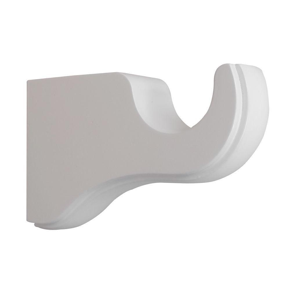 Martha Stewart Living 1 3 8 In Wood Single Bracket In White 33 Bs