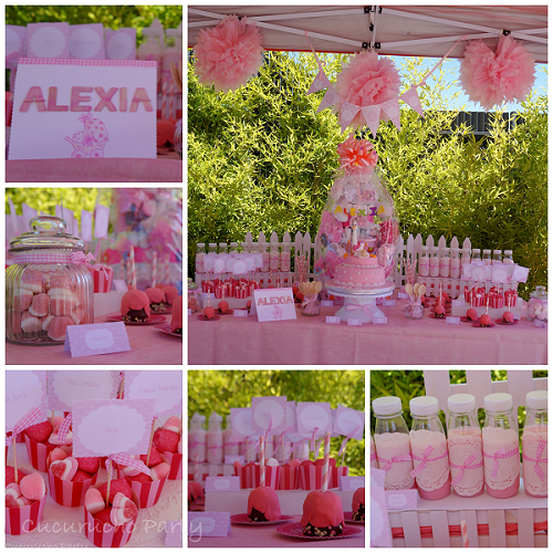 Baby shower ni a mesas dulces pinterest fiestas for Mesa dulce para baby shower