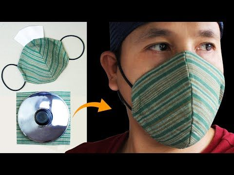 How to Sew the Best Fitted Fabric Face Mask | Simple DIY Face Mask No Sewing Machine – Nähen