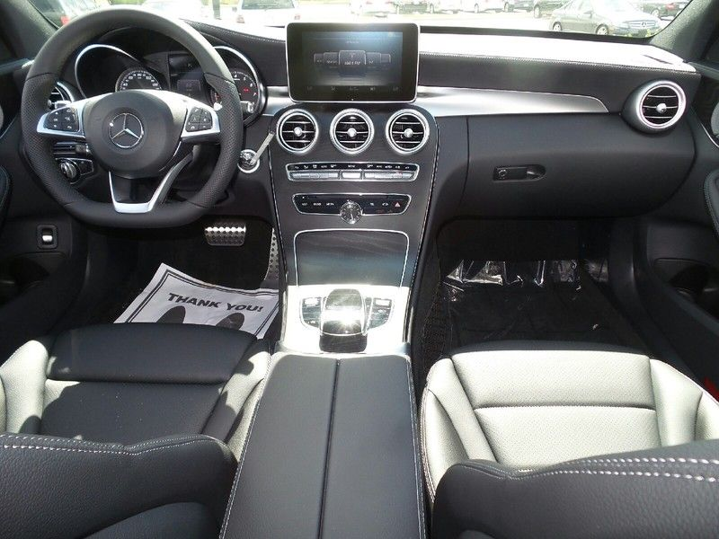 Interior Shot New 2016 Mercedes Benz C Class C300 Silver For Sale