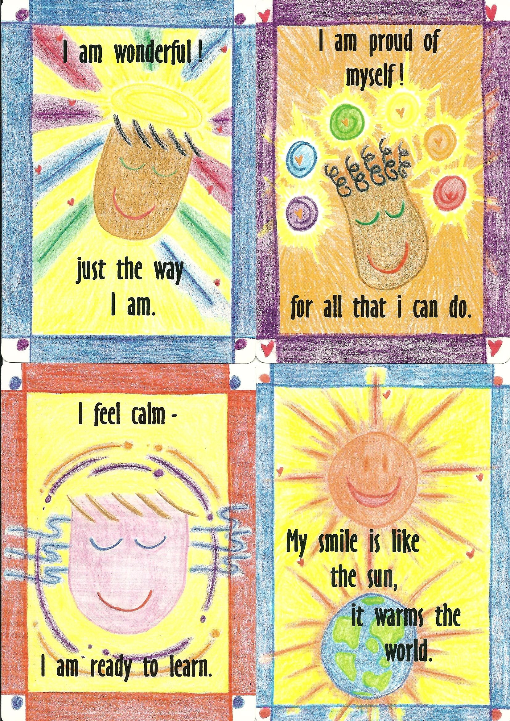 Review Amp Giveaway Nurture Cards Affirmation Cards For