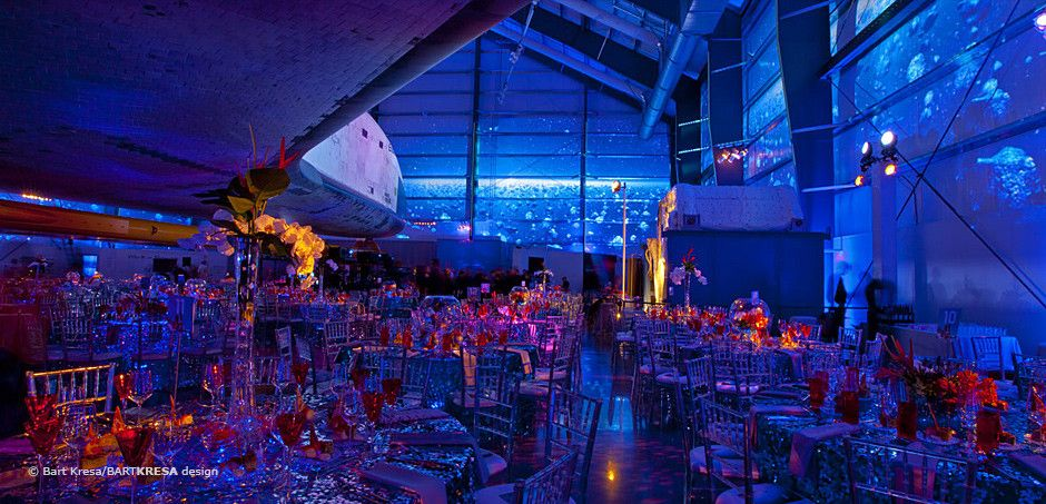 California Science Center's 15th annual Discovery Ball :: BARTKRESA design
