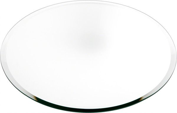 Plymor Round 5mm Beveled Glass Mirror 14 Inch X 14 Inch Glass Mirror Beveled Glass Glass