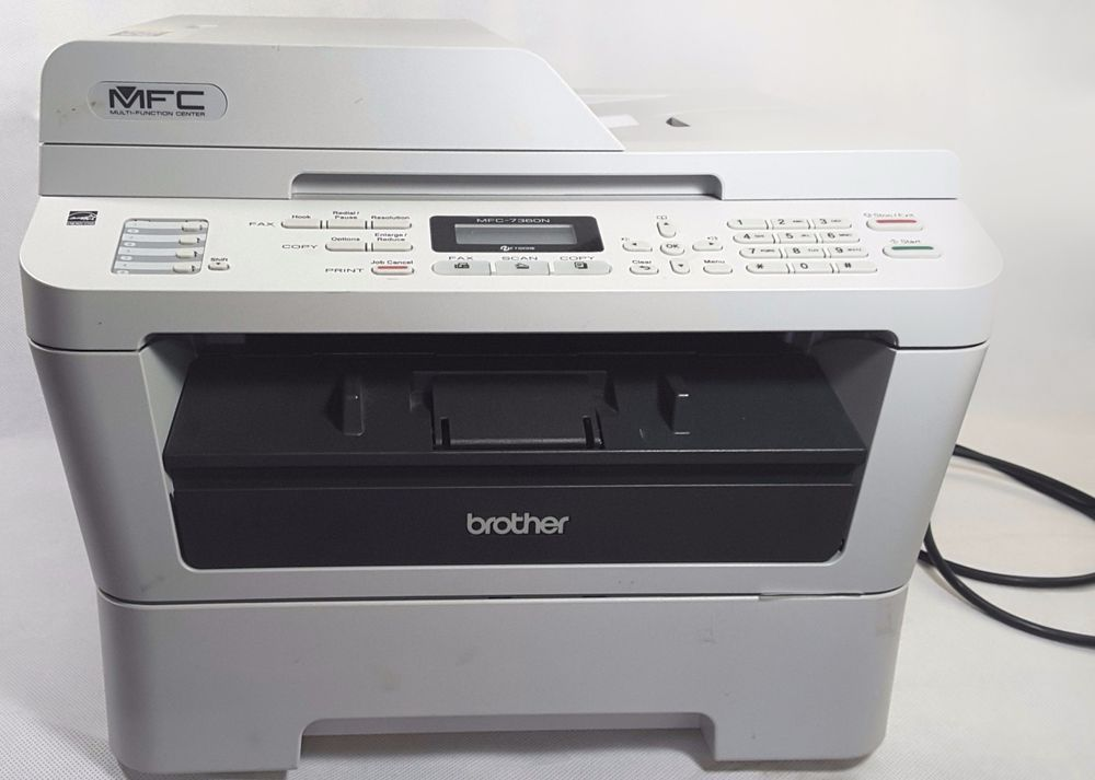 Brother Mfc 7360n Laser Printer B W 2 New Toner Cartridges Tn450 No Drum Bundle 229 99 Free Shipping Freeshipping Laser Printer Brother Mfc Brother Printers