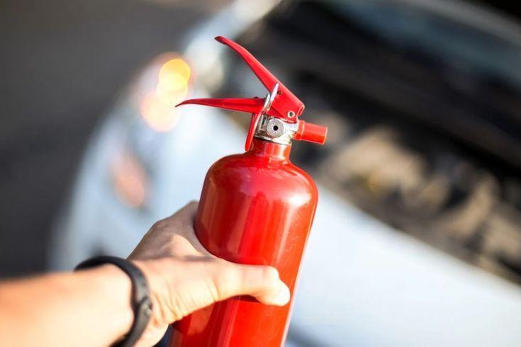 extintor de incêndio carro