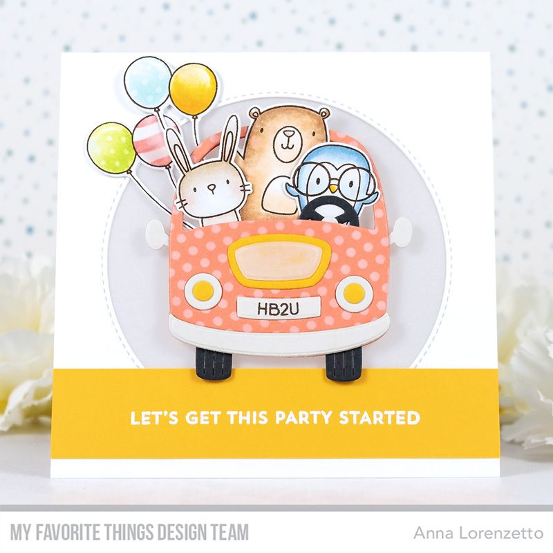 Stamps: Better Together Die-namics: Better Together, Carpool, Inside & Out  Stitched Circle STAX Stencil: Mini Staggered Circles Anna Lo… in 2020 |  Card kit, Card kits, Kit