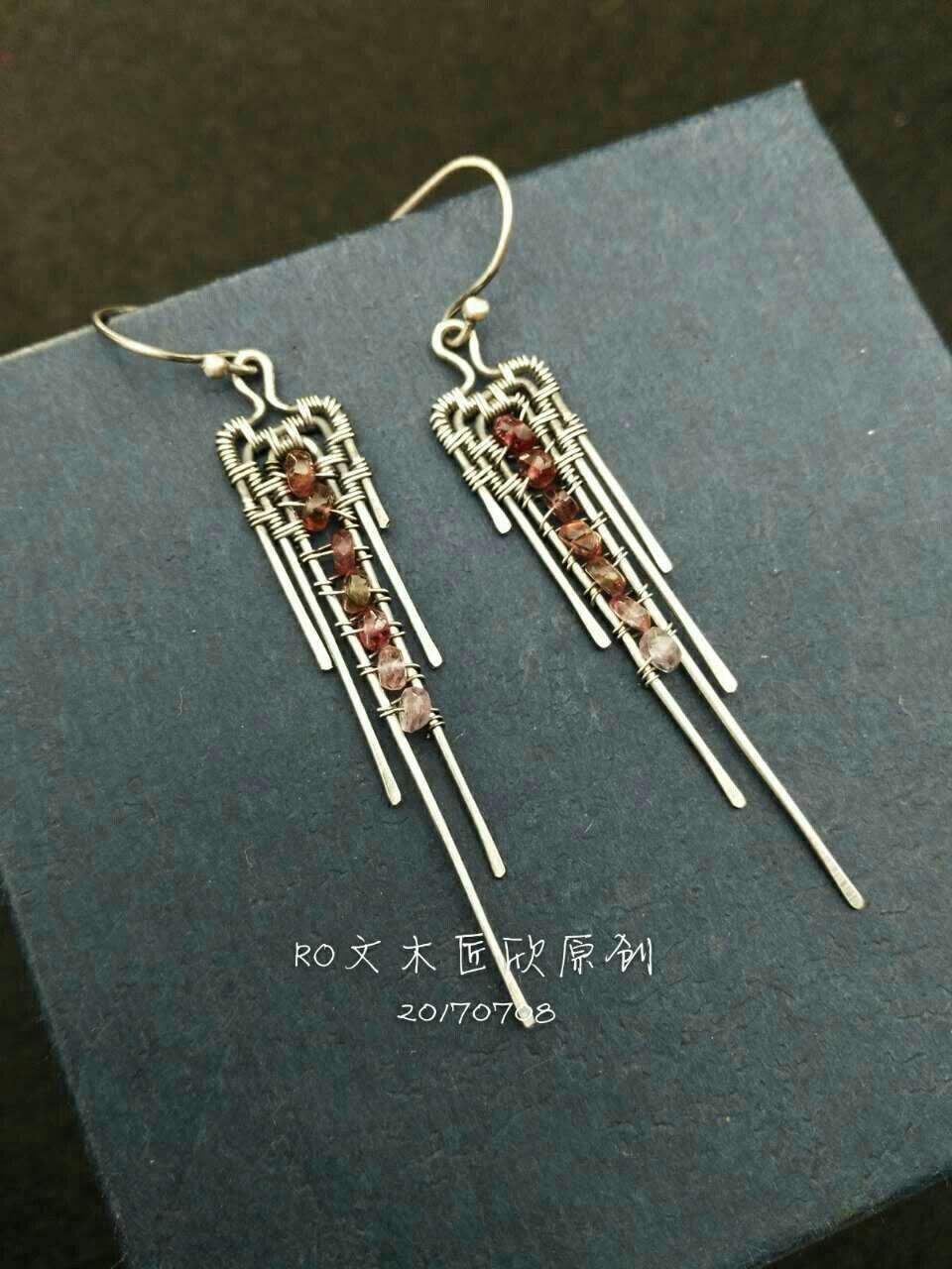 Silver earrings | Bizhuteri | Pinterest | Handgefertigter schmuck ...