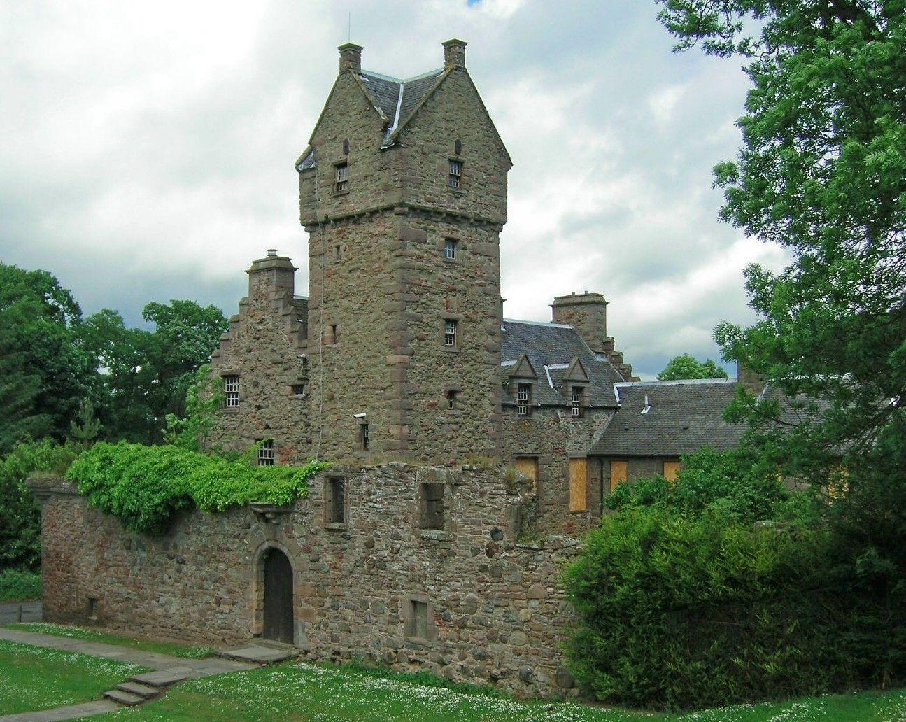 Mains Castle, Scotland