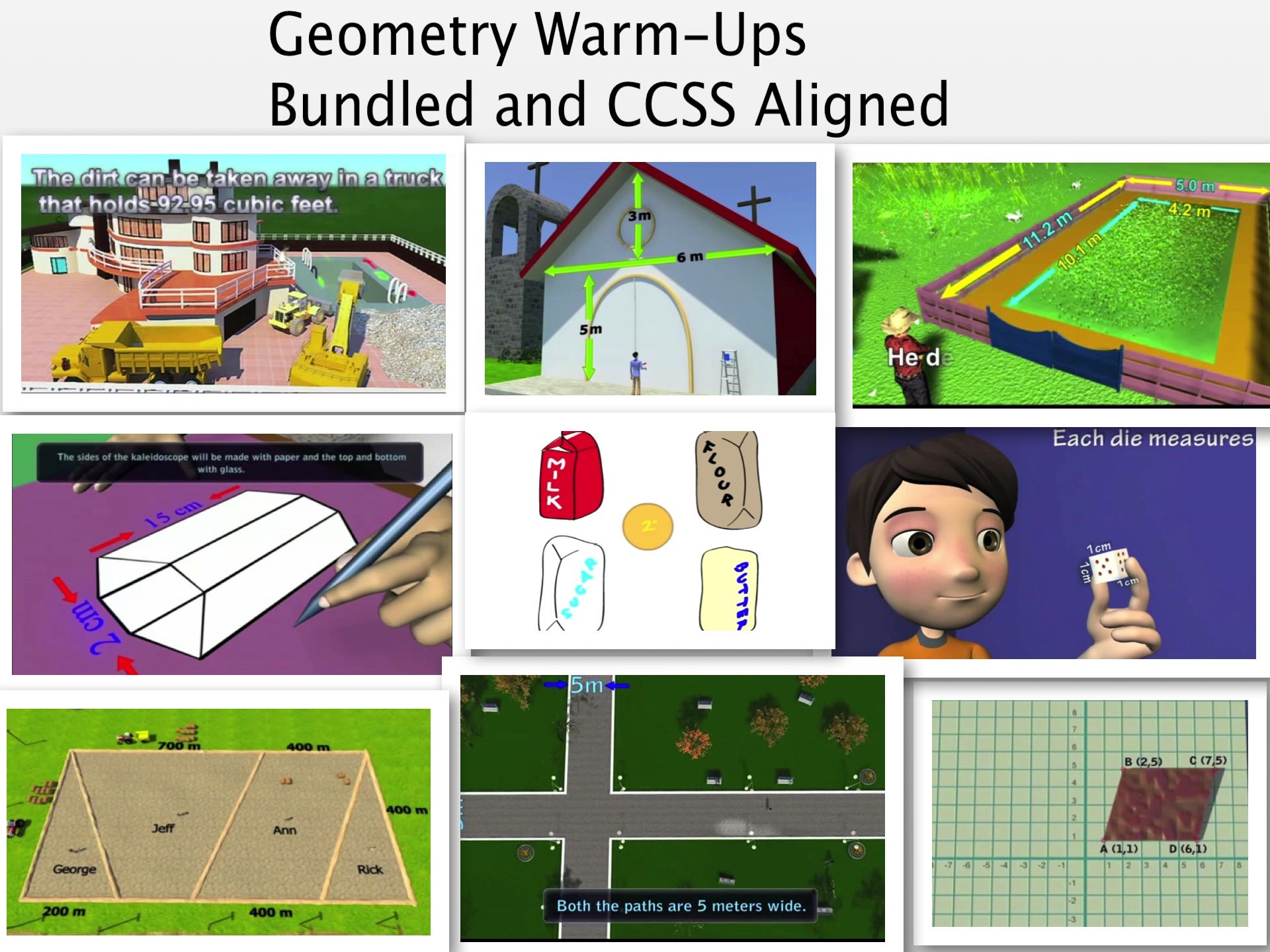 Bell Ringers For 6th Grade Geometry