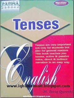 English Tenses Grammar Book In Urdu English Grammar Book Pdf