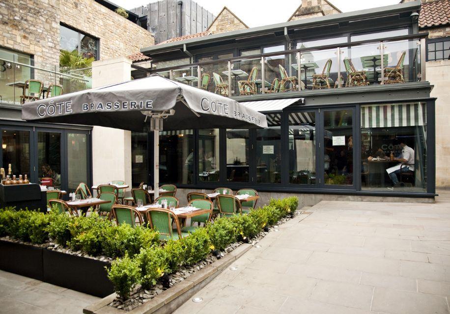 Cote Brasserie - Bath | Door design, Restaurant, Outdoor decor