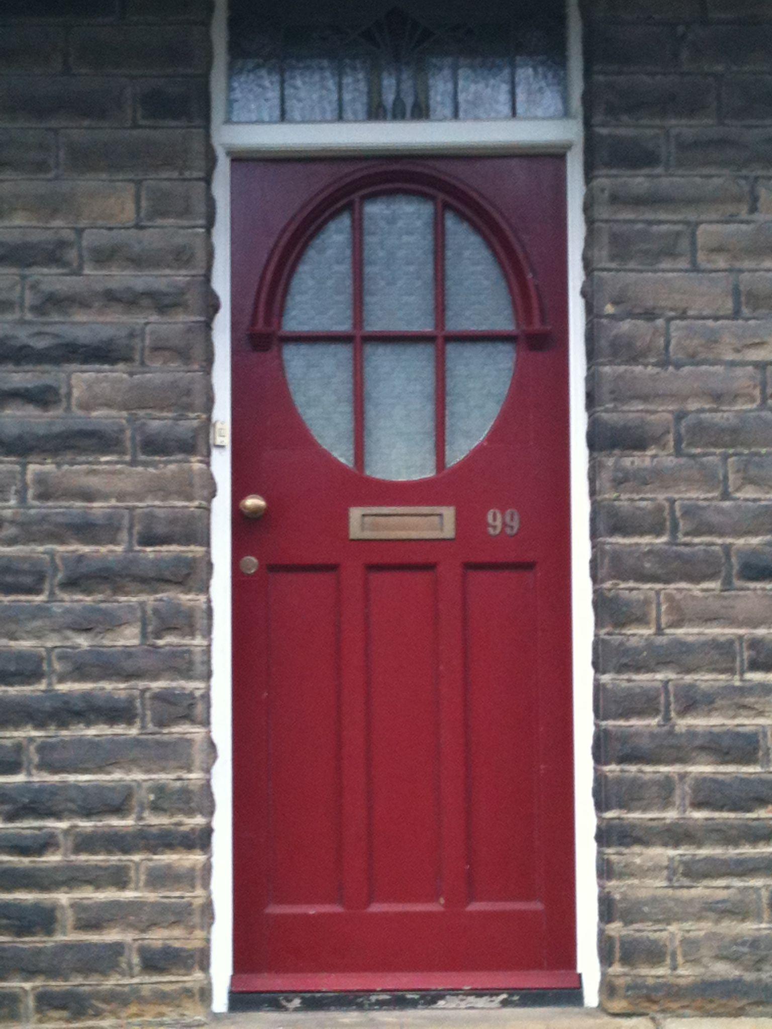 Art deco door in bradford edwardian art deco door old