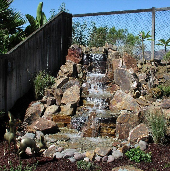 Pondless Waterfall Designs Creative