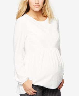 Daniel Rainn Maternity Peplum Top | Pinterest