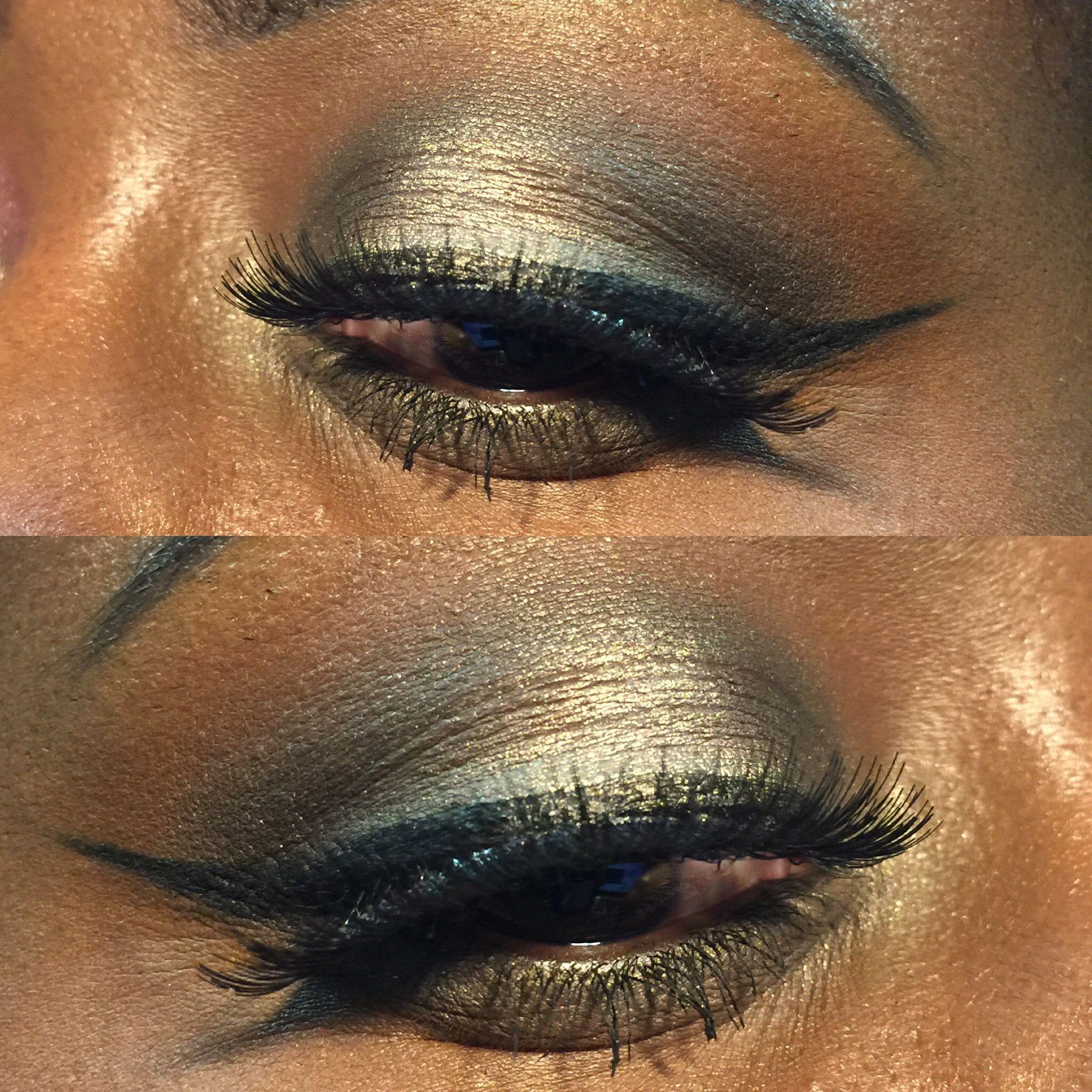 Cool toned look using makeupgeek coastalscents