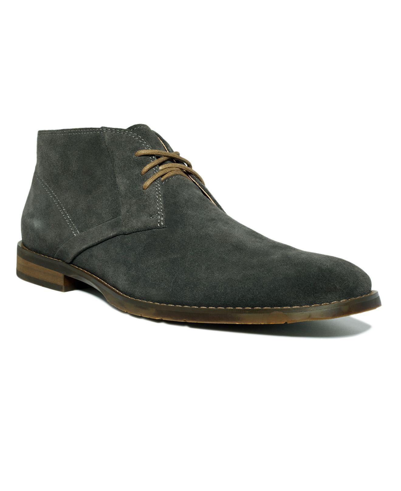 magasiner pour le luxe détaillant livraison gratuite My new shoes #CalvinKlein Warren Suede Chukka Boots | Pour ...