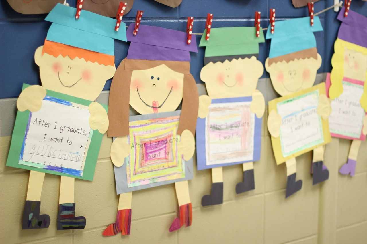 Preschool Graduation Crafts Or Ideas First Grade Blue Skies