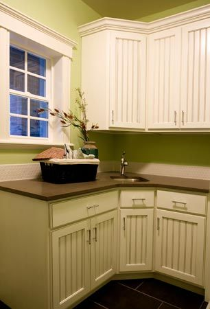 Beadboard Cabinets Laundry Room Ideas Pinterest Am I Am And Save