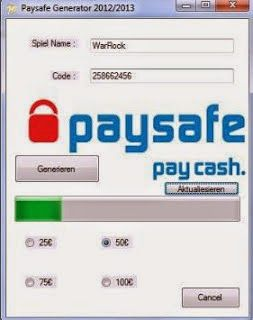 Paysafecard Pin Code Generator download cd-key keygen full