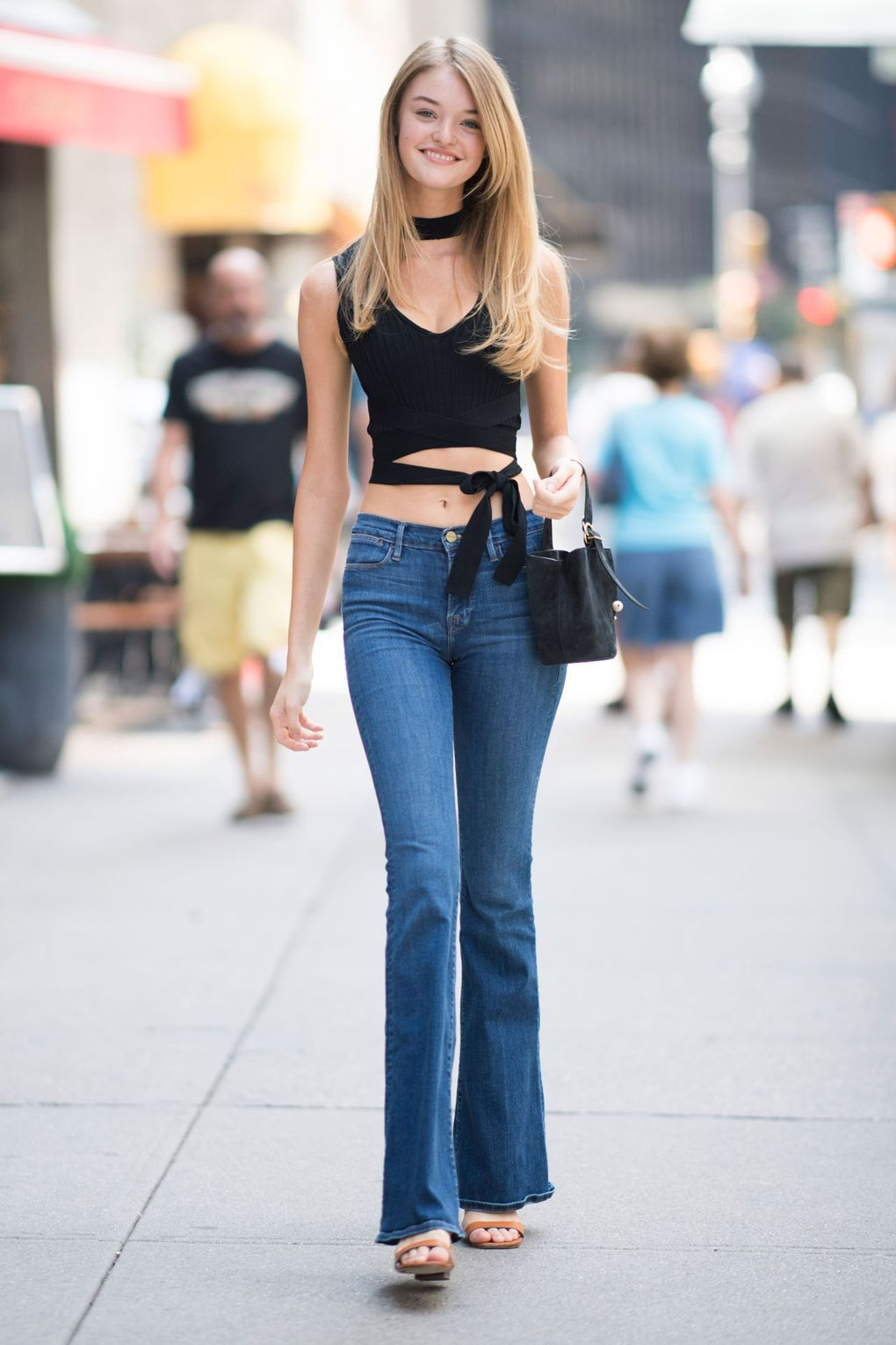 Street Style At The Victoria's Secret Show Casting