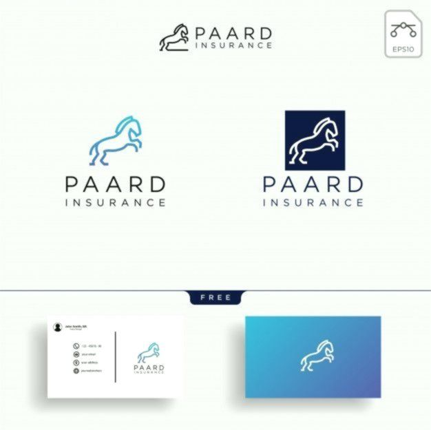 Insurance Logo Business This Business Card Template Is Designed
