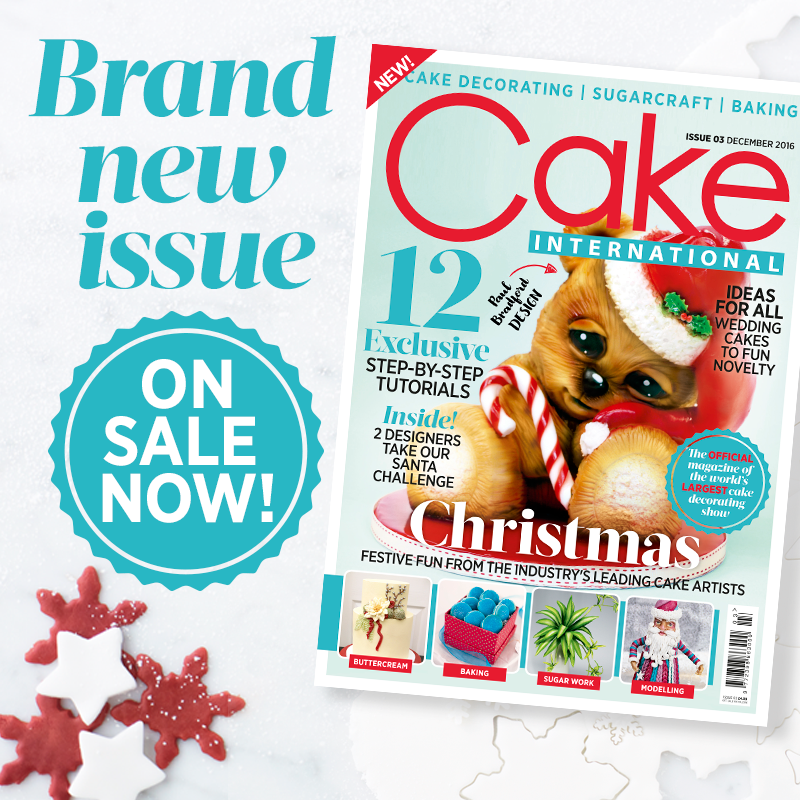 December Issue out now!   New cake, Baking sugar, Cake ...