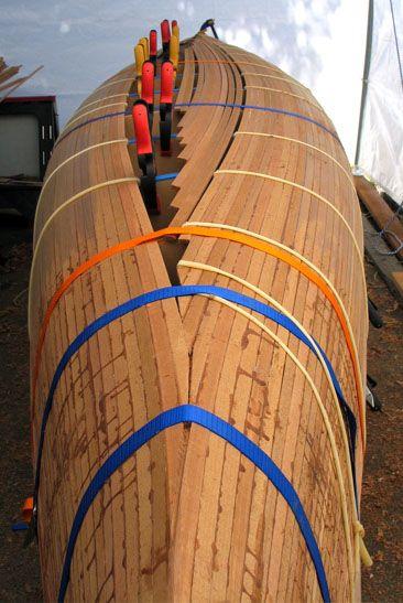 strip cedar build How canoe a