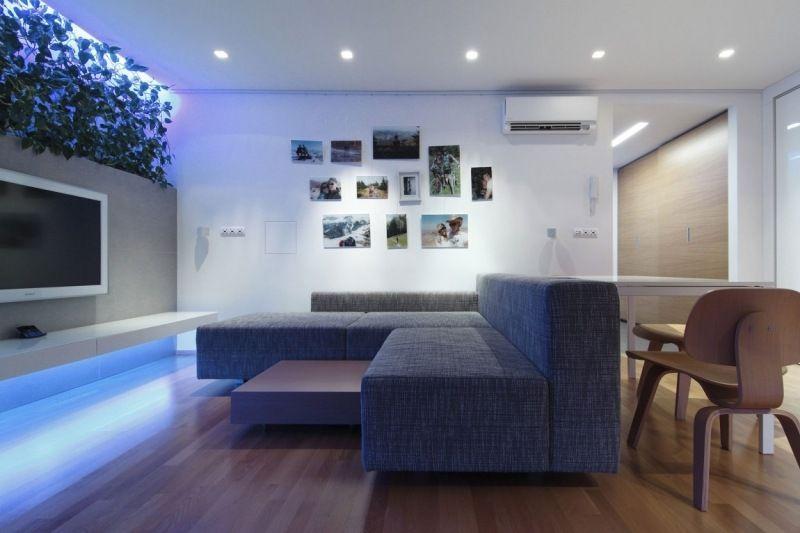 Indirekte Beleuchtung LED – 75 Ideen für jeden Wohnraum
