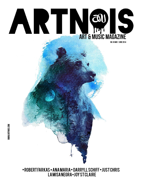Artnois, Art & Music Issue 10 | Geek - Design - Typography
