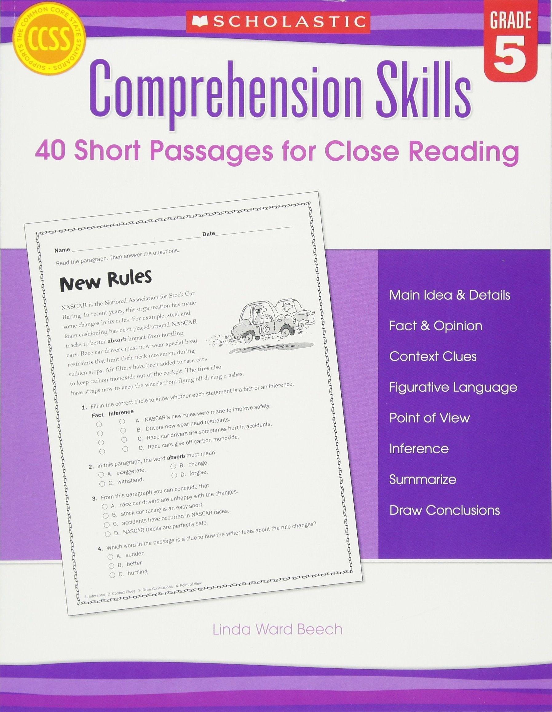 9 Accomplished 5th Grade Main Idea Worksheets Di