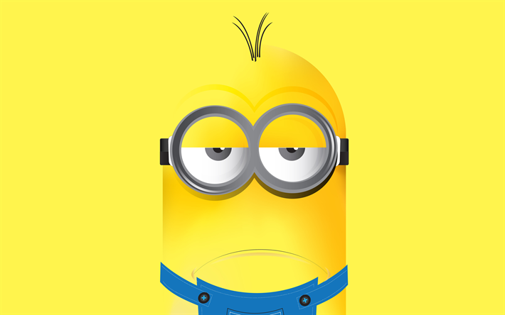 Download wallpapers Kevin, minion, Despicable Me 3, 4k