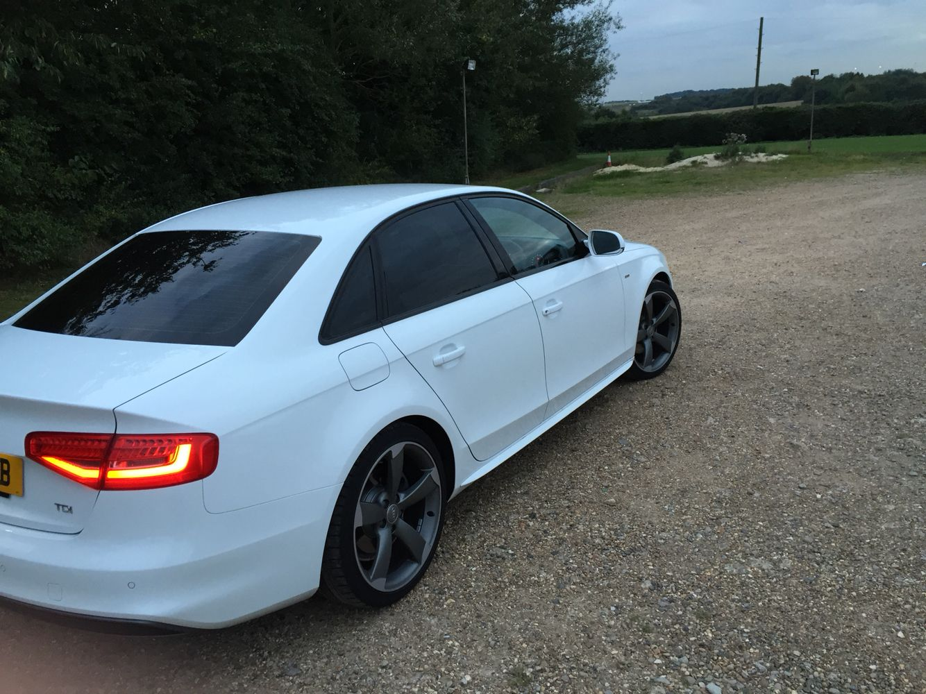 Audi A4 White S Line Black Edition Small Luxury Cars Audi A4 New Cars