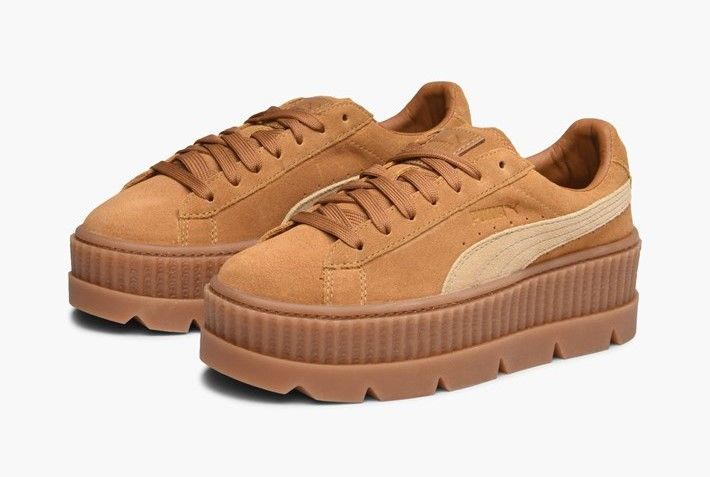 huge selection of 4c306 cde6c Puma x Fenty Cleated Creeper | Puma Shoes | Brown sneakers ...