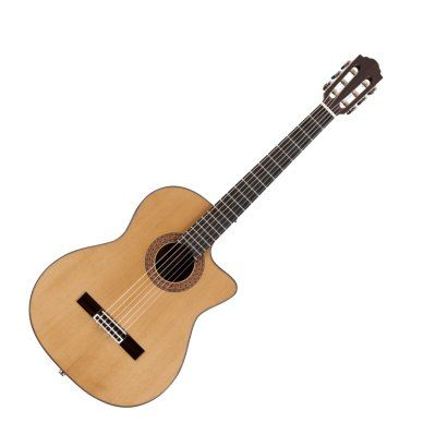 Guild Gn 5 Classical Acoustic Electric Guitar With Case Guild Acoustic Guitars Guild Guitars Acoustic Electric