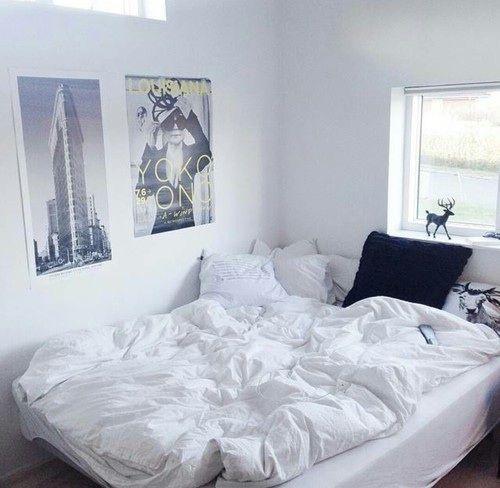 White Aesthetic Bedroom Bedroom Colour Ideas Grey Vintage Bedroom Accessories Ideas Bedroom Design Top View: *Teen Rooms* €� Tumblr Room