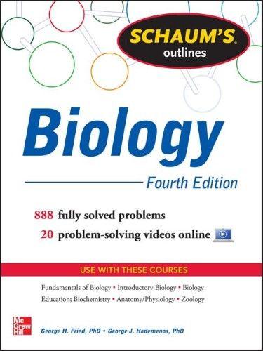 Schaum S Outline Of Biology College Chemistry Chemistry Organic Chemistry