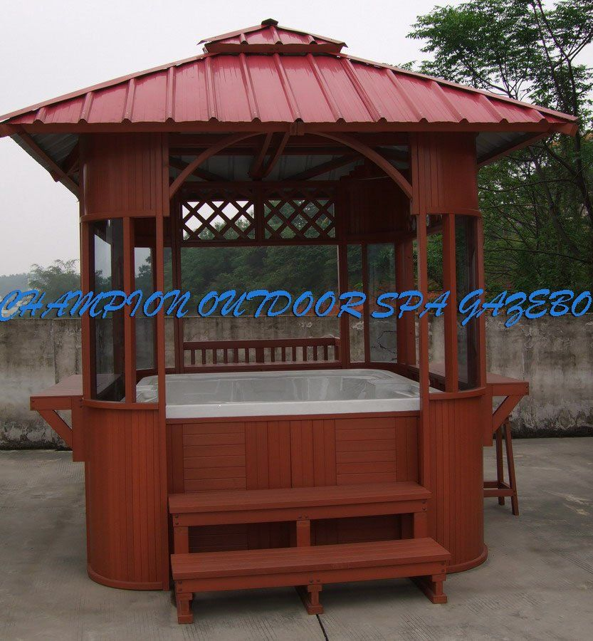 outdoor hot tub gazebo outdoor spa gazebo buying outdoor. Black Bedroom Furniture Sets. Home Design Ideas