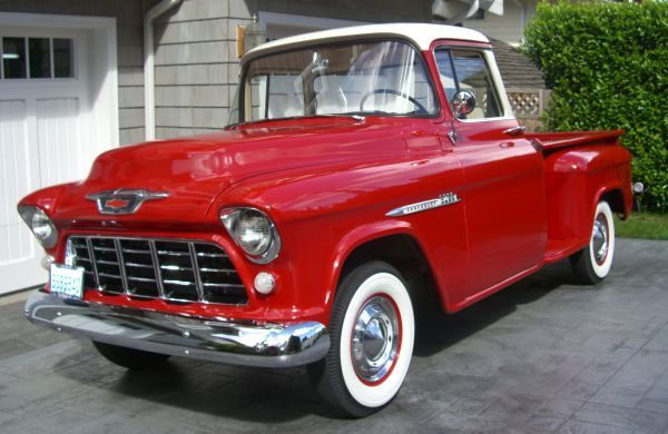 1955 Chevy Be perfect to tow my teardrop!!! | Cars trucks ...