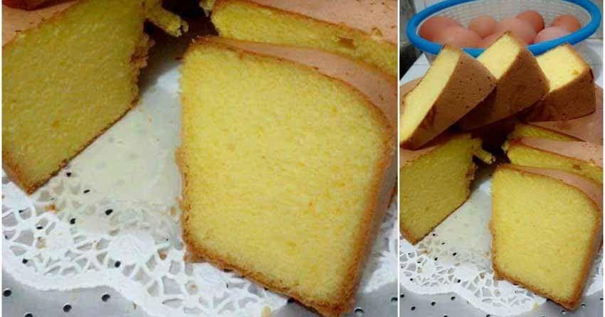 Cake Kuning Telur Warisan Mama Rasanya Enak Lembut Mirip Kue Lapsur Cuma 5 Bahan Saja Cake Kuning Telur Resep Foto Ibu Mari Makanan Dan Minuman Kue Resep